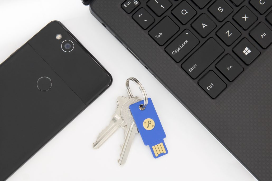 Using a Yubikey for 2-factor authentication